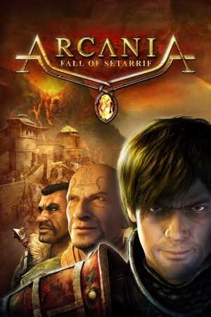 Arcania: Fall of Setarrif cover