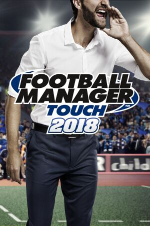 Football Manager Touch 2018 cover
