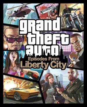 Grand Theft Auto:Episodes from Liberty City cover