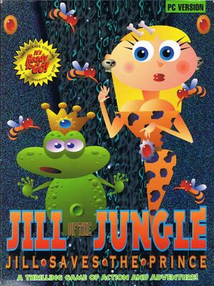 Jill of the Jungle: Jill Saves the Prince cover