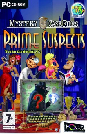 Mystery Case Files: Prime Suspects cover