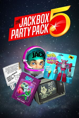 The Jackbox Party Pack 5 cover