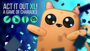 Act It Out XL! A Game of Charades cover
