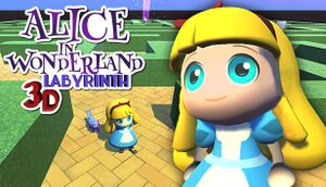 Alice in Wonderland - 3D Labyrinth Game cover