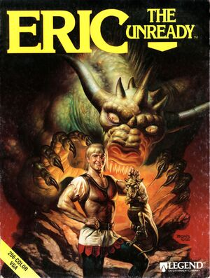 Eric the Unready cover