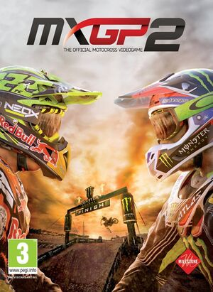 MXGP2 - The Official Motocross Videogame cover