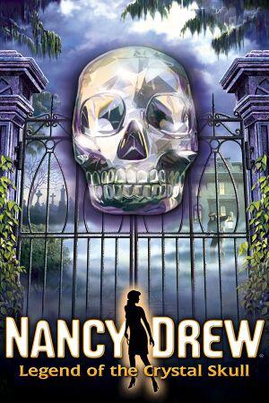 Nancy Drew: Legend of the Crystal Skull cover