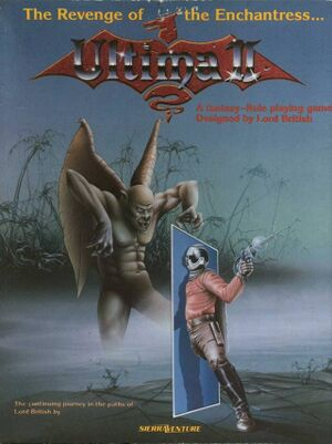Ultima II: The Revenge of the Enchantress cover