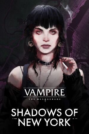 Vampire: The Masquerade -Shadows of New York cover