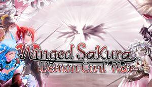 Winged Sakura: Demon Civil War cover