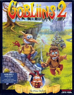 Gobliins 2: The Prince Buffoon cover