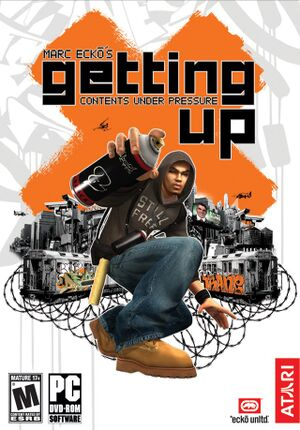 Marc Eckō's Getting Up:Contents Under Pressure cover