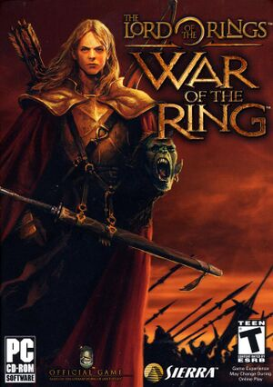 The Lord of the Rings: War of the Ring cover
