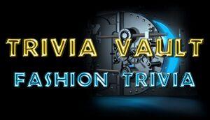 Trivia Vault: Fashion Trivia cover