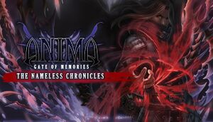 Anima Gate of Memories: The Nameless Chronicles cover