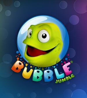 Bubble Jungle Super Chameleon Platformer World cover