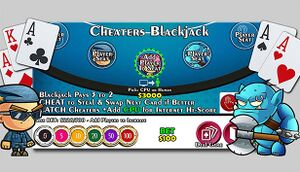 Cheaters Blackjack 21 cover