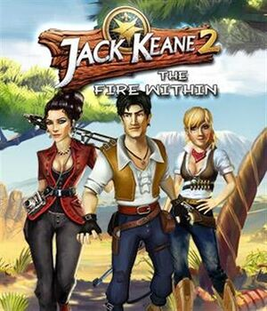 Jack Keane 2: The Fire Within cover