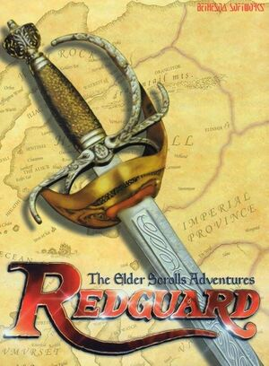 The Elder Scrolls Adventures: Redguard cover