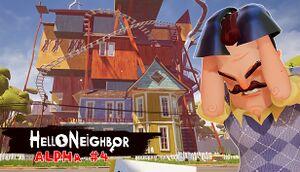 Hello Neighbor Alpha 4 cover