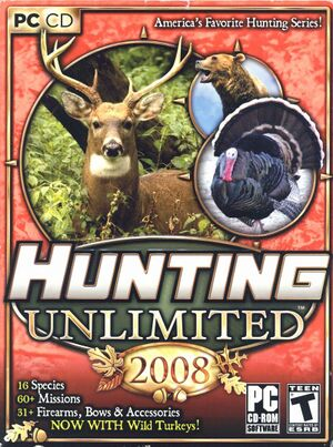 Hunting Unlimited 2008 cover