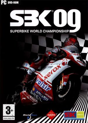 SBK-09: Superbike World Championship cover