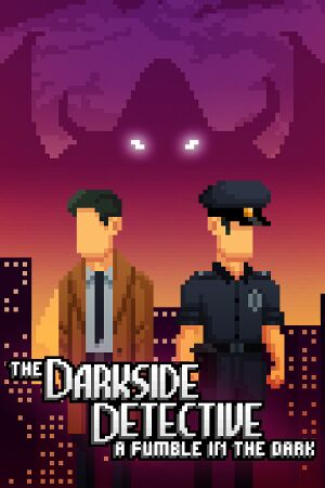 The Darkside Detective : Season 2 cover