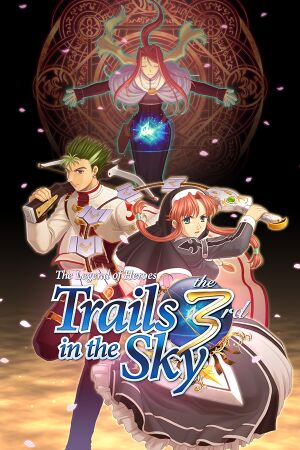 The Legend of Heroes: Trails in the Sky the 3rd cover