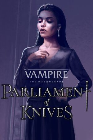 Vampire: The Masquerade -Parliament of Knives cover