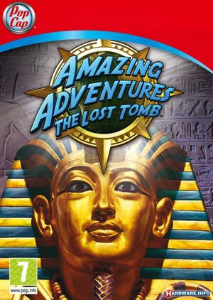 Amazing Adventures: The Lost Tomb cover