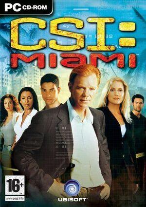 CSI: Miami cover