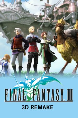 Final Fantasy III cover