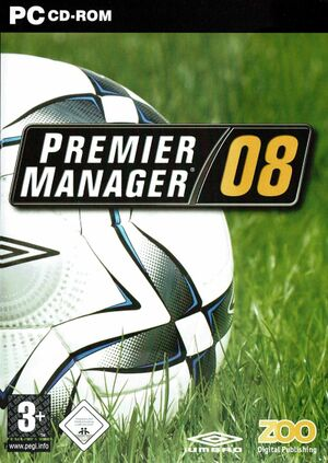 Premier Manager 08 cover