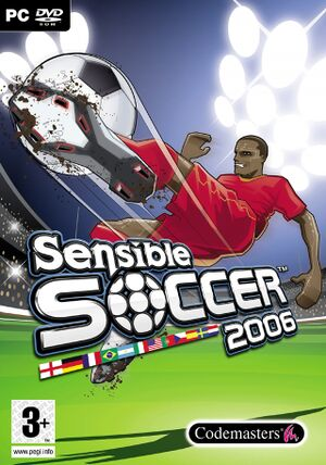 Sensible Soccer 2006 cover