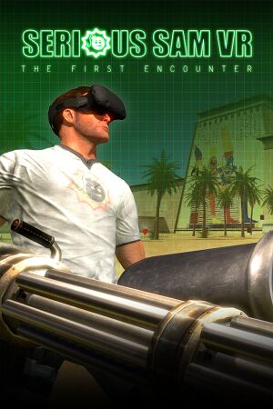 Serious Sam VR: The First Encounter cover