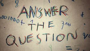 Answer The Question cover