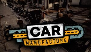 Car Manufacture cover