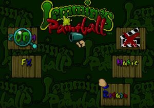 Lemmings Paintball options.