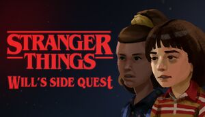 Stranger Things - Will's Side Quest cover