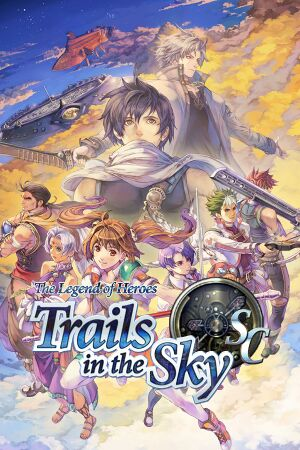 The Legend of Heroes: Trails in the Sky SC cover