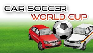 Car Soccer World Cup cover