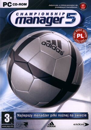 Championship Manager 5 cover