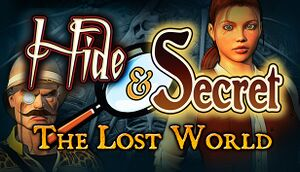 Hide and Secret: The Lost World cover