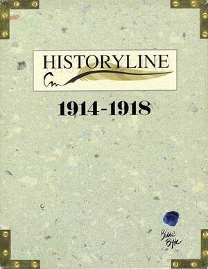 Historyline: 1914-1918 cover