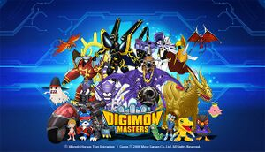 Digimon Masters Online cover