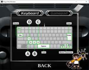 In-game keyboard controls (Humble Bundle).