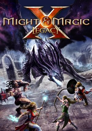 Might & Magic X - Legacy cover