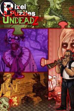 Pixel Puzzles: UndeadZ cover