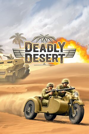 1943 Deadly Desert cover
