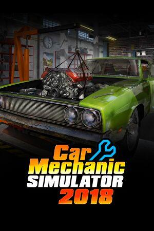 Car Mechanic Simulator 2018 cover